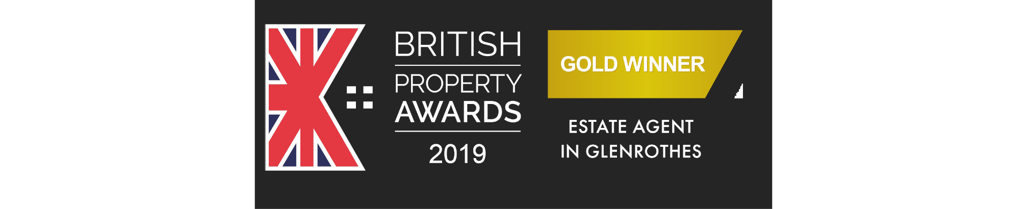 2019 British Property Awards Gold Winner